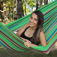 Remanso Mexico GreenHammock in fabric