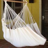Piratos - hammock chair in natural white