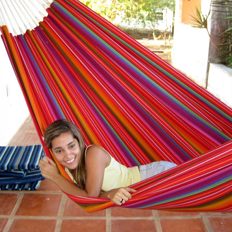 Hammock in Guatemalamix fabric with color code 542