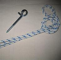 Rope and swing hook