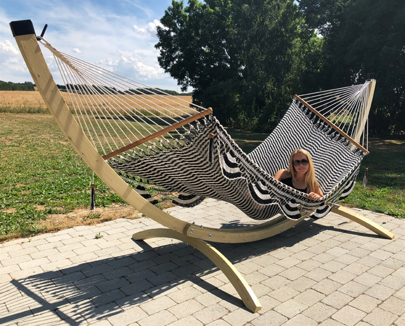 Mega Rio Hammock Stand In Luxury Quality It S Big Stand
