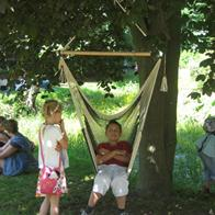 Favorite hammock chair with 2 colors in flexible net - Popular