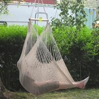 Off-white hammock chair. No. 43-NI