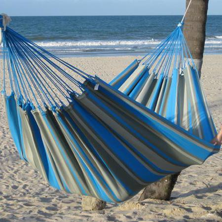 Hammock for outdoor use also