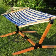 Hammock on stand