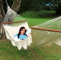 Deco Park hammock with speader bars - NICA double hammock. No. 22
