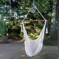Hammock chair in a big flexible net. No. 400