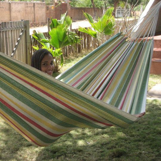 Popular hammock in retro colors